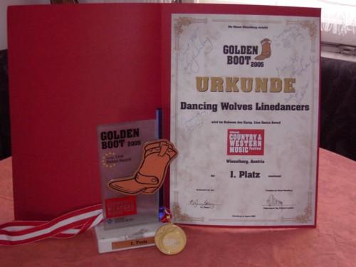 Golden Boot´s 1Platz
