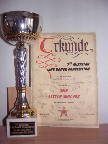 Linedanceconvention in Ried i. Innkreis – The Little Wolves