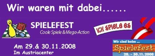 Banner Spielefest