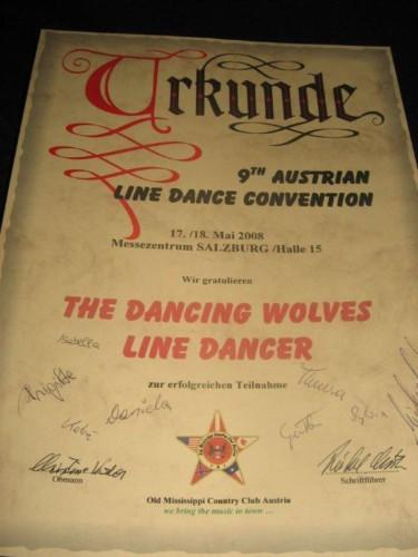 Urkunde 2008