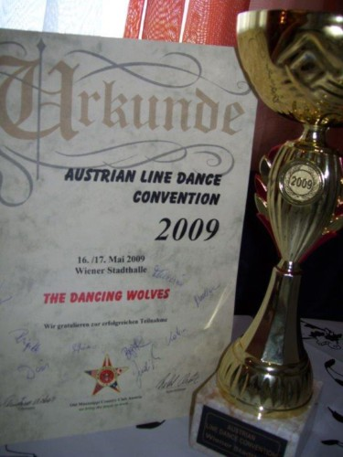 Linedanceconvention in Wien – The Dancing Wolves